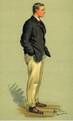 Robert Croft Bourne (1888 - 1939) From The Rowers of Vanity Fair