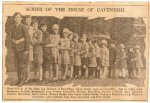 """16 Ducal grandchildren, 1928/9. Lord Burlington  was Billy Cavendish, killed by a sniper in Belgium in 1944 when serving with the   Coldstream Guards and Lord Andrew Cavendish became the 11th   Duke"""