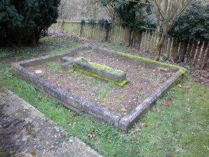 Stella's grave at Belstead Church, Ipswich