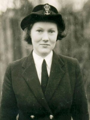 Beaujolois joined the WRNS aged 23