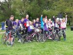 12 Cobbolds who rode for the Stroke Association in May 2014.  They had a great ride!