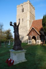 The Freston War Memorial 'Victory'