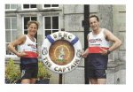 The Captain and his wife run for the Royal Navy and Royal Marines Charity