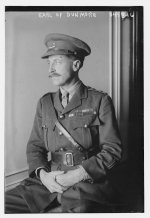 The 8th Earl of Dunmore in 1917