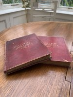 2medium sized albums dated 1812 & 1813