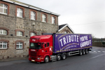 First delivery of Tribute for British Airways leaves the brewery
